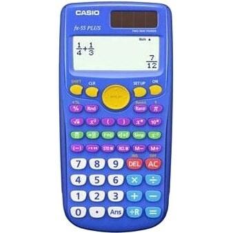 Casio FX55PLUS-TP Casio fx-55Plus Scientific Calculator - Battery Powered - 2.2 Inch x 5.3 Inch