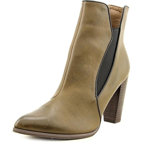Penny Loves Kenny Axis Pointed Toe Synthetic Ankle Boot