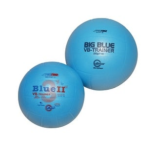 Sportime Big Blue Foam Cover Official Size Volleyball Trainer, Blue