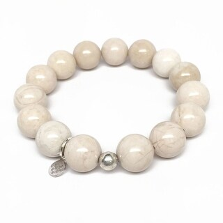 "Ivory Jade Brook 7"" Bracelet