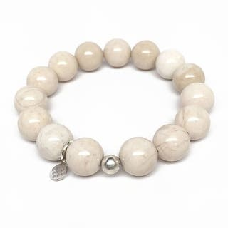 """Ivory Jade Brook 7"""" Bracelet
