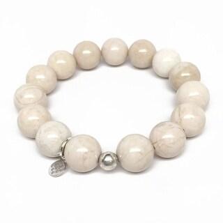"Ivory Jade Brook 7"" Bracelet"