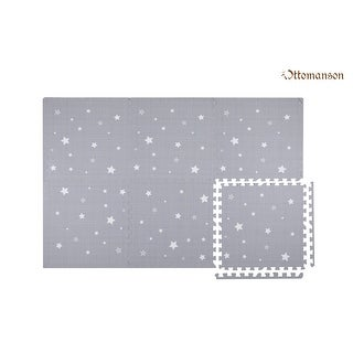 Link to Ottomanson Soft Eva Foam Play Mat Tiles, Grey, 2'x2'(6PC) Similar Items in Play Sets