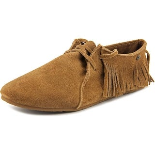 Volcom Downtown Round Toe Suede Oxford