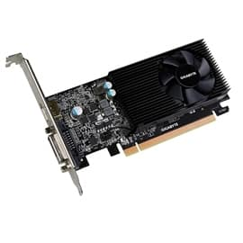 Gigabyte Video Card GV-N1030D5-2GL GT 1030 Low Profile 2GB GDDR5 64Bit DVI-D/HDMI Retail