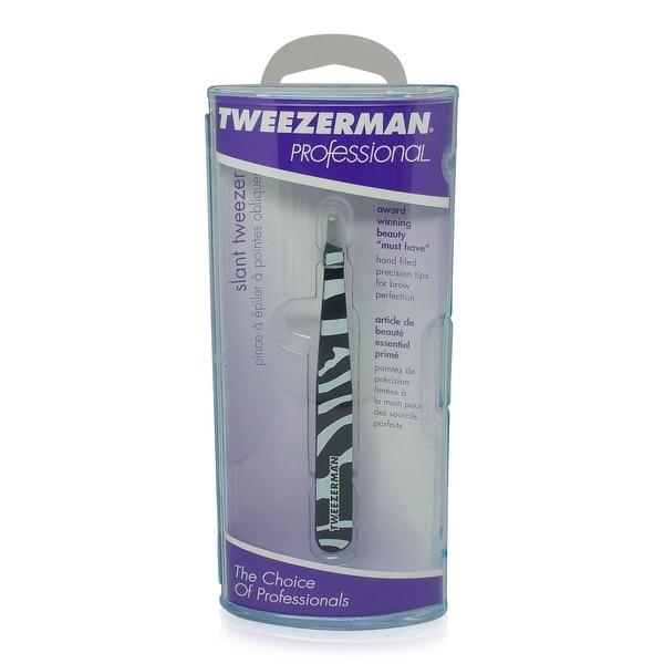 Tweezerman Slant Tweezer Zebra Print