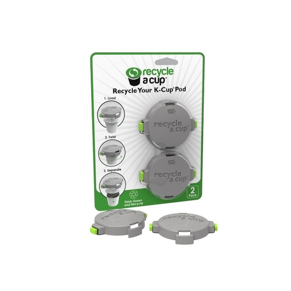 Medelco Cafe Brew Collection RK606 Recycle A Cup K-Cup Recycling Tool