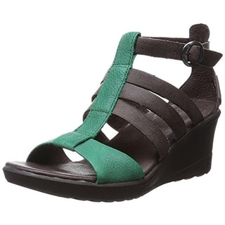 Keen Womens Victoria Leather T-Strap Wedges