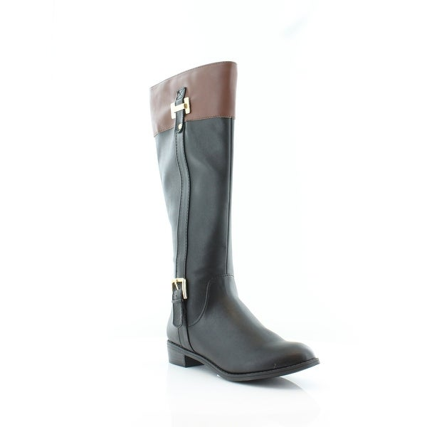 cd973819d2c Karen Scott Womens Deliee Round Toe Knee High Riding Boots - 7.5