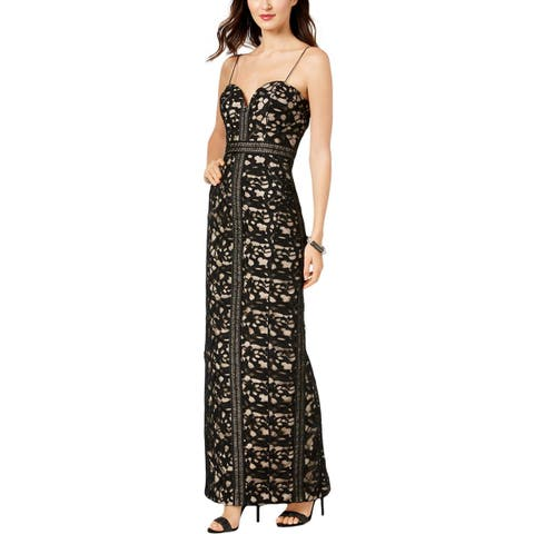 011789690a0 Betsy   Adam Womens Evening Dress Lace Party