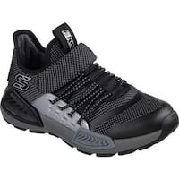 Skechers Boys' Kinectors Thermovolt Sneaker Black/Charcoal