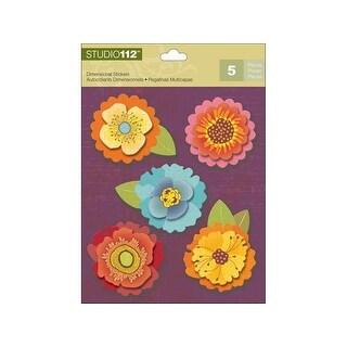 K&Co Studio 112 Sticker Dimensional Flower