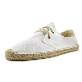 Soludos Derby Lace UP Round Toe Canvas Espadrille