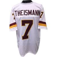 Joe Theismann unsigned White TB Custom Stitched Pro Style Football Jersey XL