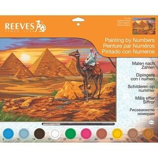 """Paint By Number Kit 12""""X16""""-Egyptian Desert"""
