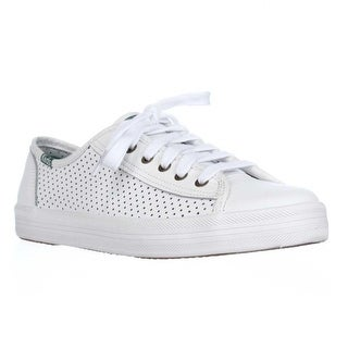 Keds Kickstart Perforated Fashion Sneakers, White