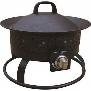 Bond 67836 Aurora Steel Gas Firebowl