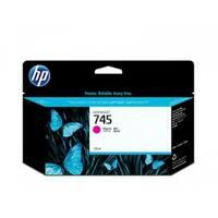 HP 745 130-ml DesignJet Yellow Ink Cartridge (F9J95A)(Single Pack)