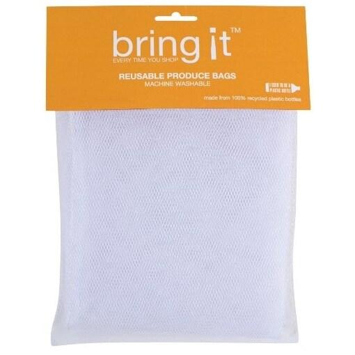 "HIC 02977 Bring It Valencia Reusable Produce Bags, Small, 8"" x 12"""