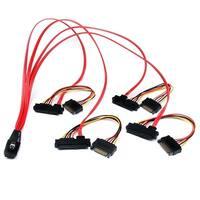 Startech Sas808782p50 50Cm Internal Serial Attached Scsi Mini Sas Cable