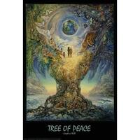 ''Tree of Peace'' by Josephine Wall Fantasy Art Print (36 x 24 in.)