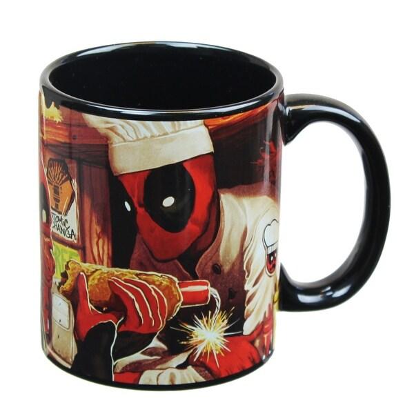 Dead Pool 12oz Atomic-Changa Coffee Mug - Multi