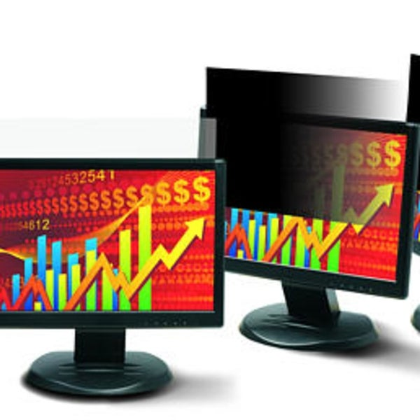 """3M PF220W9F Framed Desktop Monitor Privacy Filter for 21.5/""""-22/"""" Widescreen Lcd"""