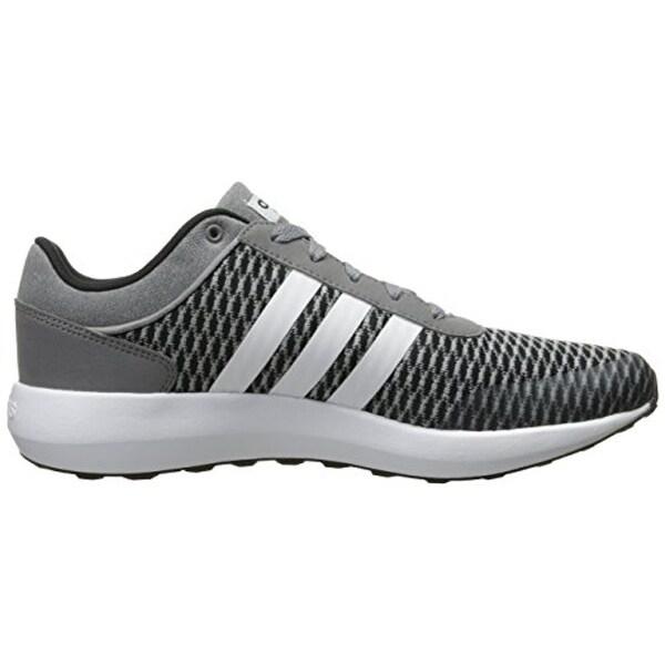 Adidas NEO Men's Cloudfoam Race Black Shoes | GJSportLand