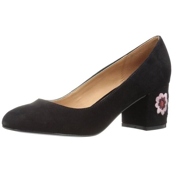 Nanette Lepore Womens Daphne Leather Closed Toe Classic Pumps
