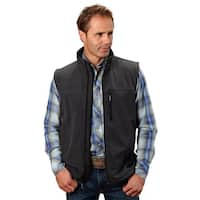 Roper Western Vest Mens Quality Zippered Print