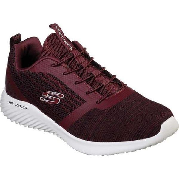 ea53f9c0d2a03c Shop Skechers Men's Bounder Bungee Lace Sneaker Burgundy - On Sale ...