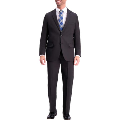 Haggar Mens Suit Jacket Classic Fit Two-Button