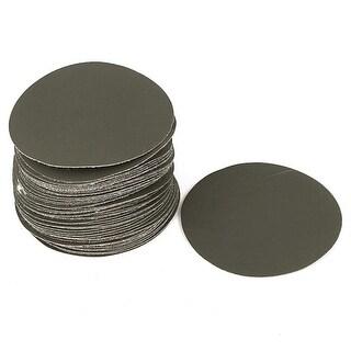 "3"" Dia Silicone Carbide 2000 Grit Polishing Sand Paper Green 50pcs"