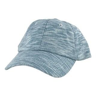 Napa Knit Stylish Unstructured Adjustable Strapback Dad Cap Hat by CapRobot - Blue