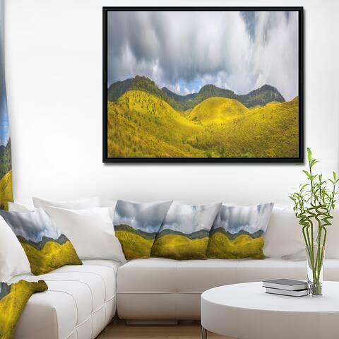 Designart 'The Horton Plains' Landscape Framed Canvas Print