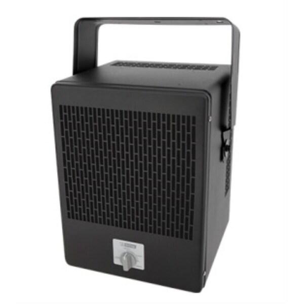 King EKB2450TB 5000W 240V Economy Unit Heater w/ Stat and Bracket - Black