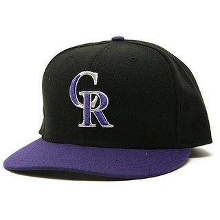 New Era Colorado Rockies Performance Alternate Fitted Cap Hat