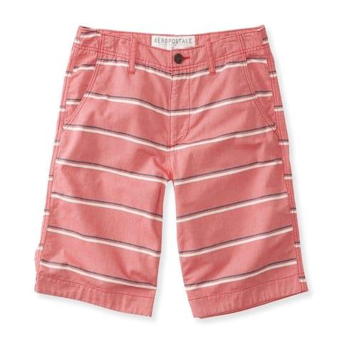 Aeropostale Mens Striped Longer Length Casual Bermuda Shorts - 27