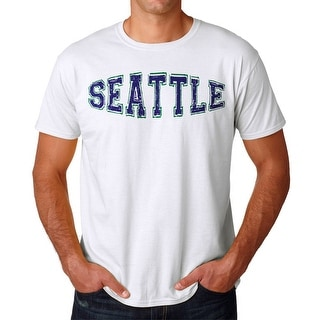 Tee Bangers Seattle Men's White T-shirt