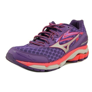 Mizuno Wave Inspire 12 Women  Round Toe Synthetic Purple Running Shoe