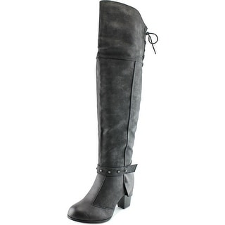 2 Lips Too Too Local Women Round Toe Synthetic Over the Knee Boot