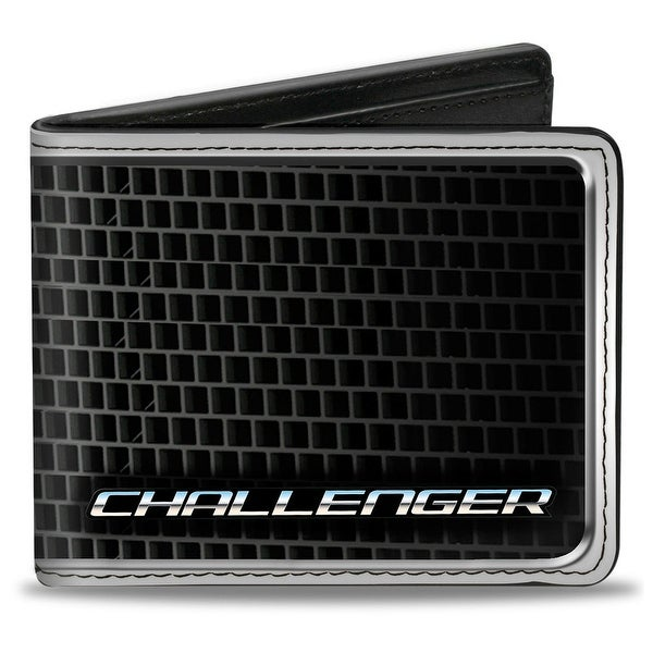 Challenger Bold Grille Bi Fold Wallet - One Size Fits most