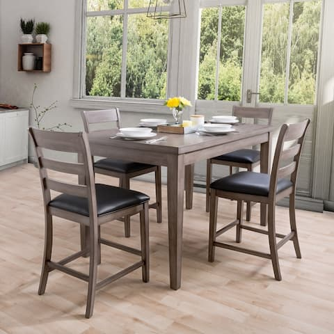 CorLiving New York Counter Height Dining Set, 5pc