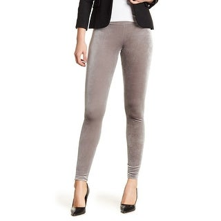 RDI NEW Gray Womens Size Small S Pull On Stretch Seamed Velvet Pants
