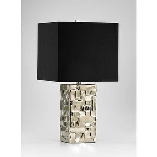 Cyan Design 4385 1 Light Table Lamp from the Java Collection - Silver