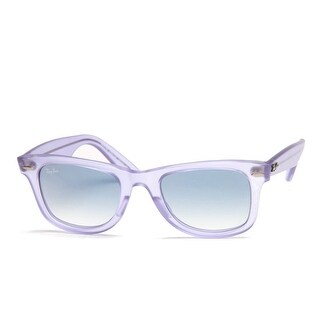 Original Wayfarer Ice Pop Grape Sunglasses With Blue Gradient Lens - ice pop grape