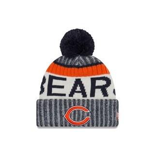 Chicago Bears 2017 On-Field Sport Knit Beanie