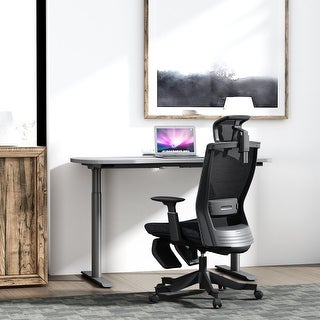 Link to Ergonomic Office Mesh Task Chair with Adjustable Headrest Similar Items in Office & Conference Room Chairs