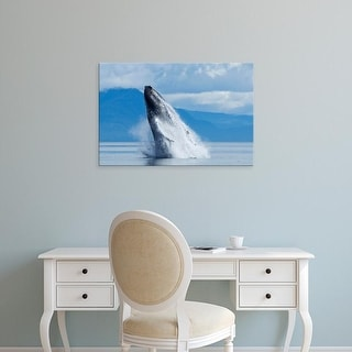 Easy Art Prints Paul Souders's 'Humpback Whale' Premium Canvas Art