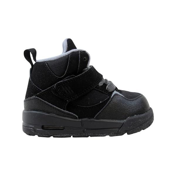 4832f2d40c1c Nike Air Jordan Flight 45 TRK TD Black White-Anthracite-Stealth Toddler  467931